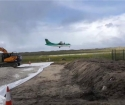Works Progressing Well in Donegal Airport (Carrickfinn) Apron Extension