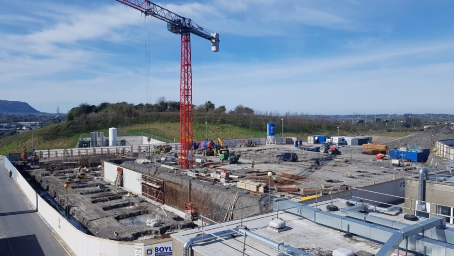 Work Progressing Well on the New Acute Mental Health Unit at Sligo University Hospital