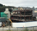 Works progressing well on the refurbishment and extension to Donegal Town Garda Station