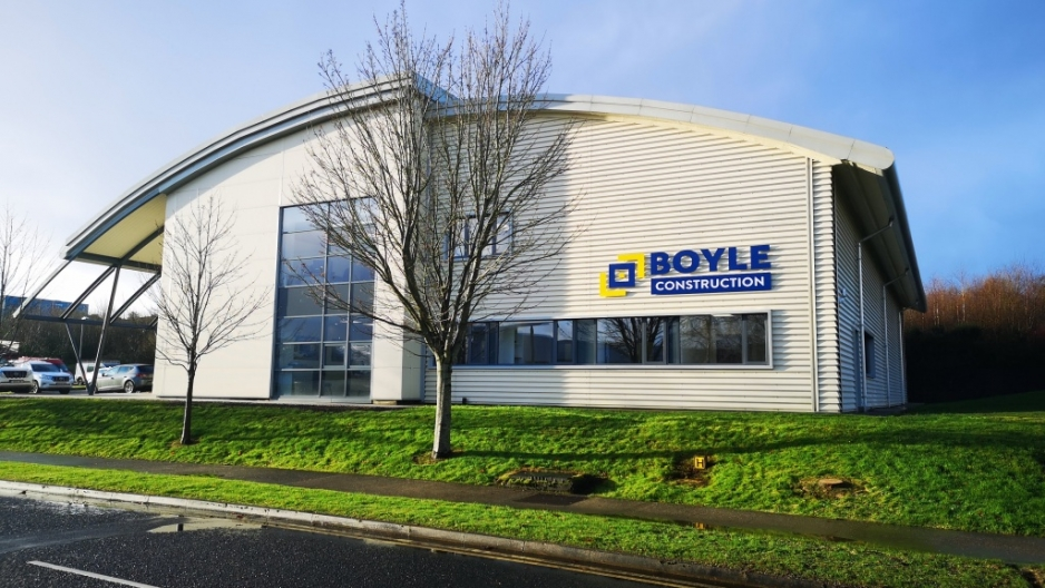 Boyle Construction Move Into New Offices